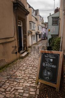 Turf Tavern Pub, Bath Place, Oxford City, England