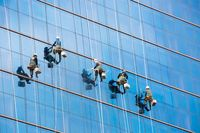 High Rise Window Washers Seoul Korea