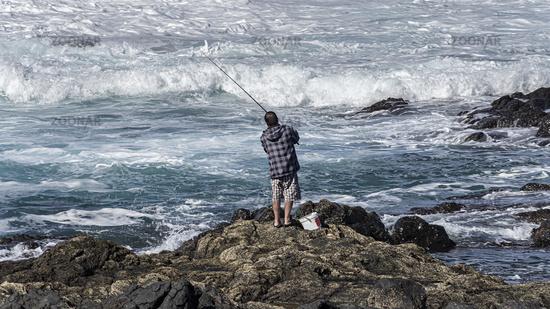 Fisherman Saltwater Fishing