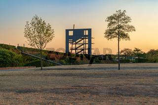Olga Park in Oberhausen, North Rhine-Westfalia, Germany