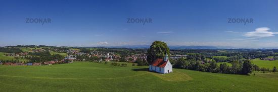 Holy Cross Chapel in Amtzell. Upper Swabia