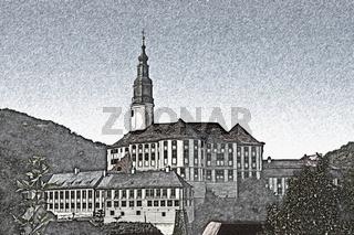Schloss Weesenstein   Weesenstein Castle