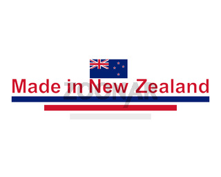 Qualitätssiegel Made in New Zealand - Quality seal made in New Zealand