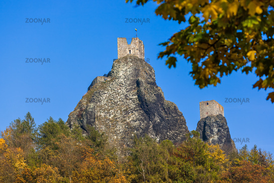 Trosky Castle in Bohemia paradise - Czech republic