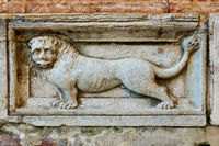Lion - detail of St Marks Basilica