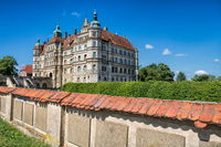 güstrow, germany - 07.06.2019 - old castle güstrow