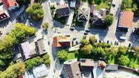 Aerial view of Schrobenhausen