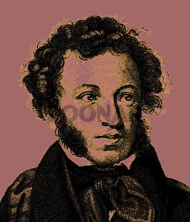 Alexander Sergeyevich Pushkin, 1799-1837, Russian poet