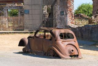 the ruins of oradour-sur-glane