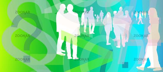 menschen menge lifestyle fragen themen sozial