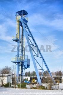 Klettwitz Foerderturm - Klettwitz shaft tower 01