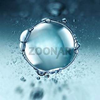 big water air bubble