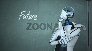 Future Thinking Humanoid Robot