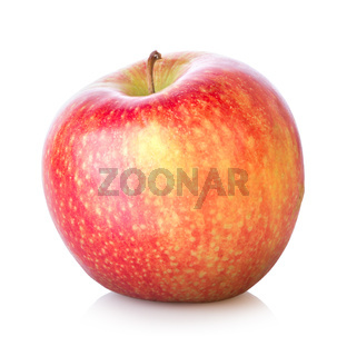 Juicy apple isolated