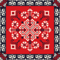 Romanian traditional pattern 190