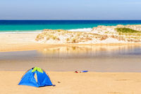 Beach tent on  Little Beach - Chain of Lagoons