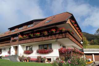 Schönes Haus im Schwarzwald, Deutschland