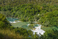 Krka Park waterfalls,  Croatia