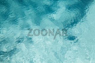water in pool, sea or ocean