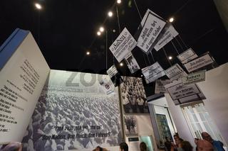Jerusalem Israel. Yad Vashem. Memorial to the victims of the holocaust