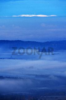 Fernblick zur Hornisgrinde im Schwarzwald