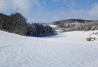 Winterlandschaft, Taunus, Taunusstein