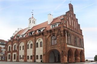 City hall in Kamien Pomorski