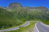 Silvretta High Alpine Road, Austria, europe