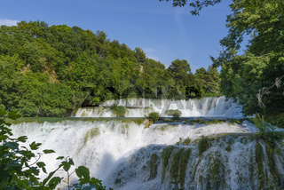 Krka Nationalpark Kroatien Wasserfall, Krka Park Croatia waterfalls