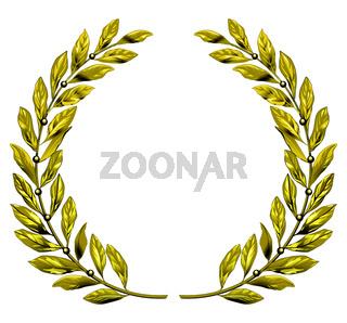 Golden Lorbeerkranz.eps