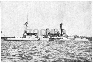 SMS Brandenburg (1891) - the lead ship of the Brandenburg-class pre-dreadnought battleships