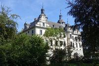 historic moated castle Kriegshoven, Swisttal-Heimerzheim