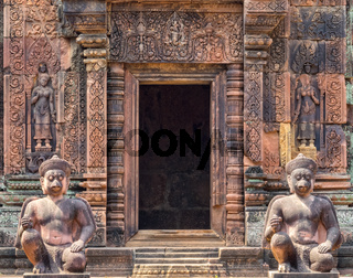 Entrance to the Sanctuary - Banteay Srei