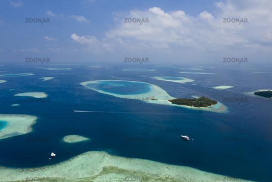 Touristeninsel, Villivaru, Malediven