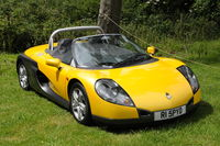Renault spider sports car