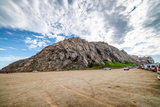 Beautiful view of Morro Rock, California
