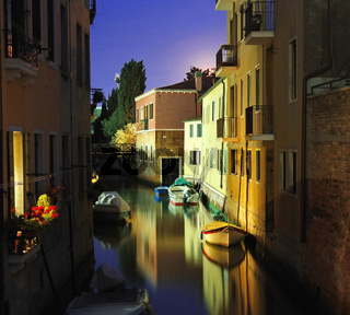 Venice at the night