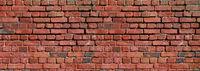 Brick wall texture. Banner background