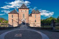 Castle of the Dukes of Brabant in Turnhout, Belgium