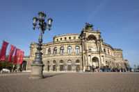 Opera, Dresden, Saxony, Germany, Europe