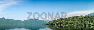 Lake Ashi and Mount Fuji