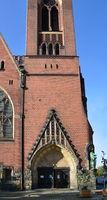 Church in Friedrichshain, Berlin