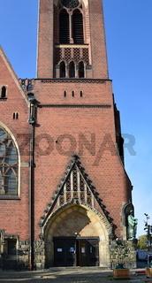 Kirche in Friedrichshain, Berlin