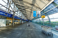 Terminal Flughafen Leipzig Halle LEJ Airport