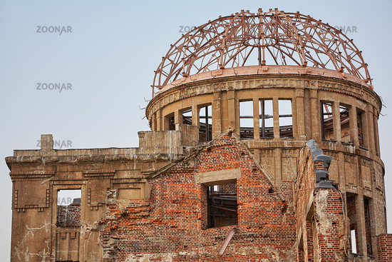 Atomic Bomb Dome. Hiroshima. Japan