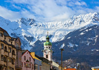 Old town in Innsbruck Austria
