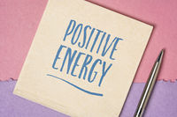 positive energy inspirational handwriting