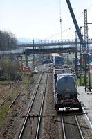 Bahnbetriebsunfall Rheintalstrecke Auggen
