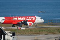 AirAsia Airbus taxiing