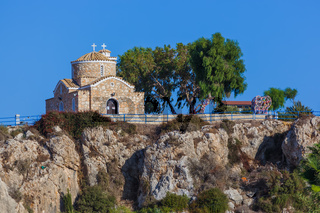 The Church of Profitis Elias is located in Protaras Cyprus